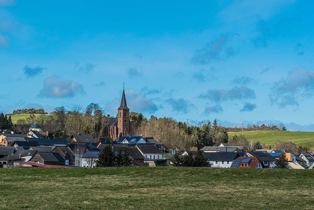 Blick auf Harzheim