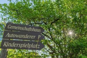 Einsame Wanderung um Marienberghausen