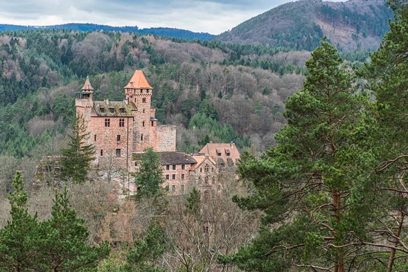 Burg Bergwartstein-Wanderungen für die Seele Pfalz