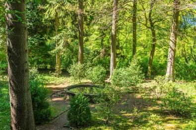 Blick in den Garten der Stille