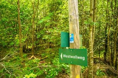 Wegweise Westwallweg