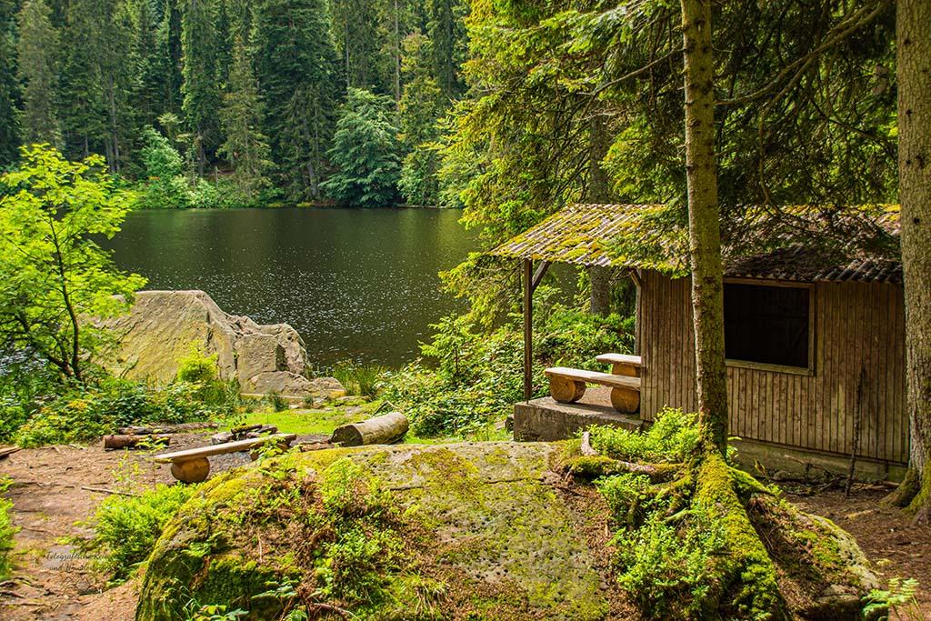 Glaswaldsee und Schutzhütte
