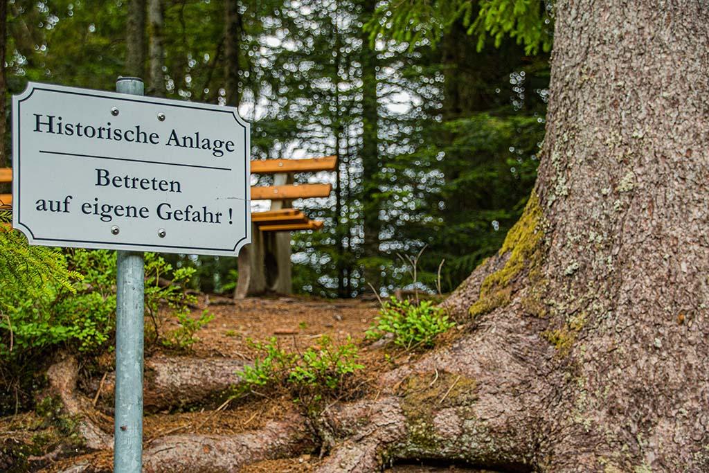 Schild am See