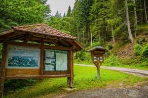 Parkplatz Glaswaldsee