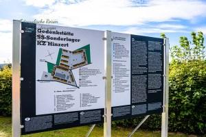 Infotafel Gedenkstätte KZ Hinzert