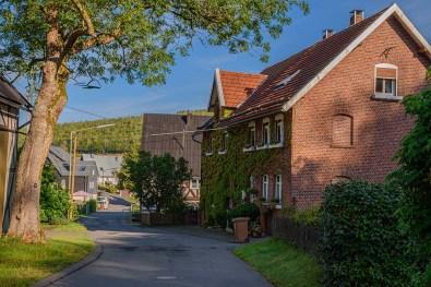 Straße in Grund Hilchenbach