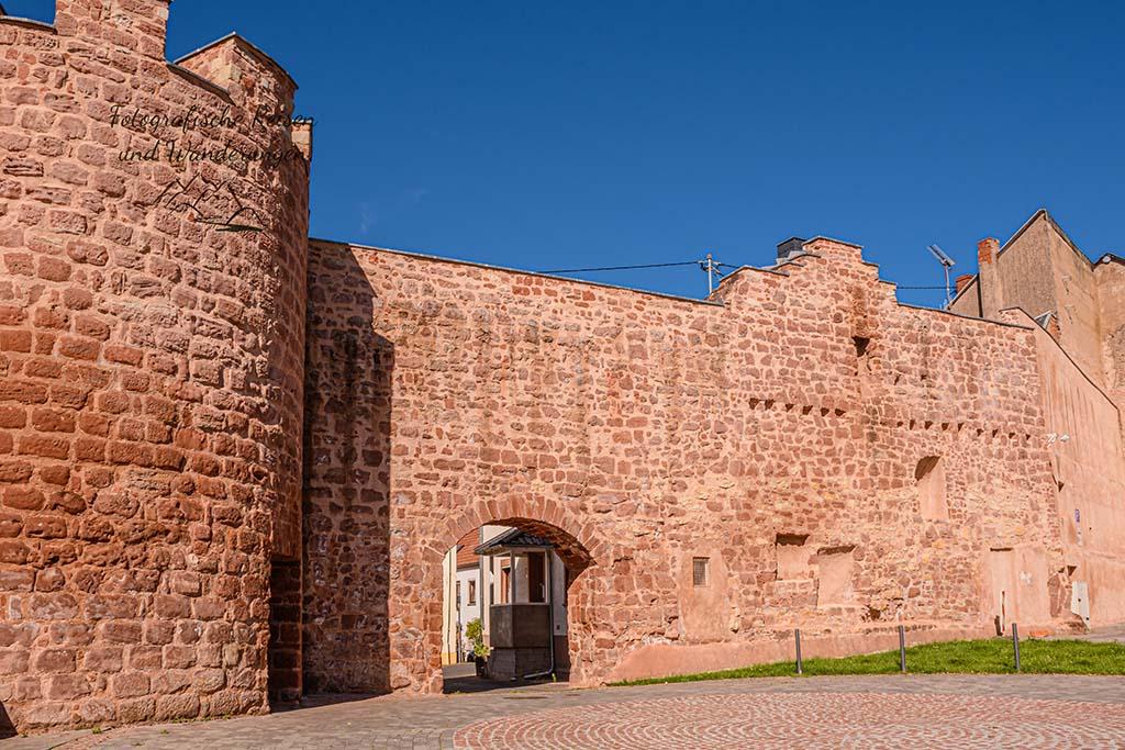 Stadtmauer Freudenburg