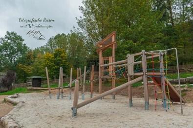 Spielplatz im Eifel Zoo