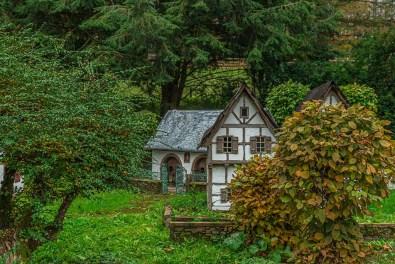 Minidorf im Eifelzoo