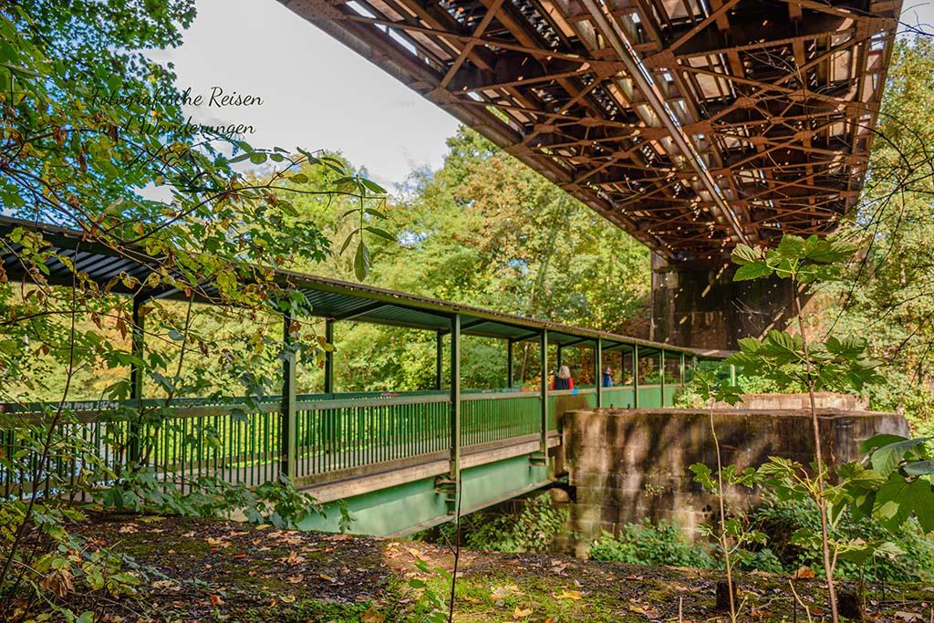 Doppelbrücke über die Wupper