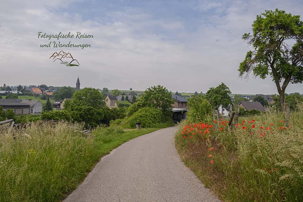 Blick zurück auf Floisdorf