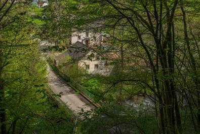 Blick auf die Bleckhausener Mühle