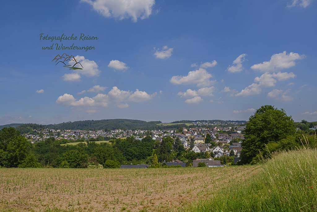 Blick auf Melsbach