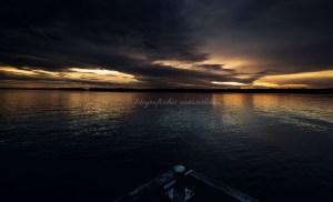 Abendstimmung am Cospudener See