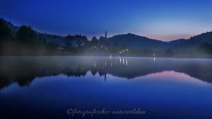 Beyenburger Stausee in der blauen Stunde