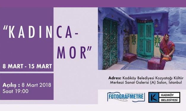 """Kadınca """"MOR"""" Fotoğraf Sergisi"""