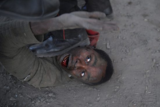 Violencia post-electoral en Kenia, de Walter Astrada.