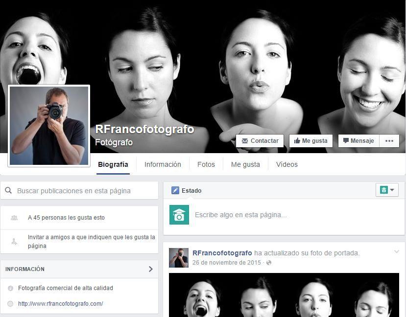 Facebook RFranco Fotógrafo