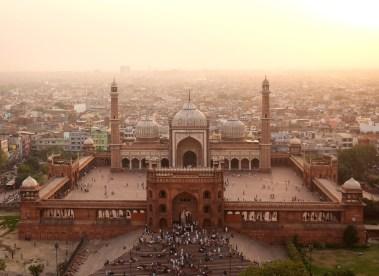 Jama Masjid, serce islamu w Indiach.