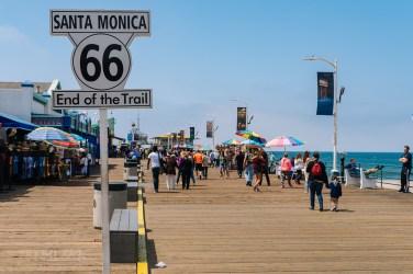 Santa Monica, tutaj kończyła się Route 66