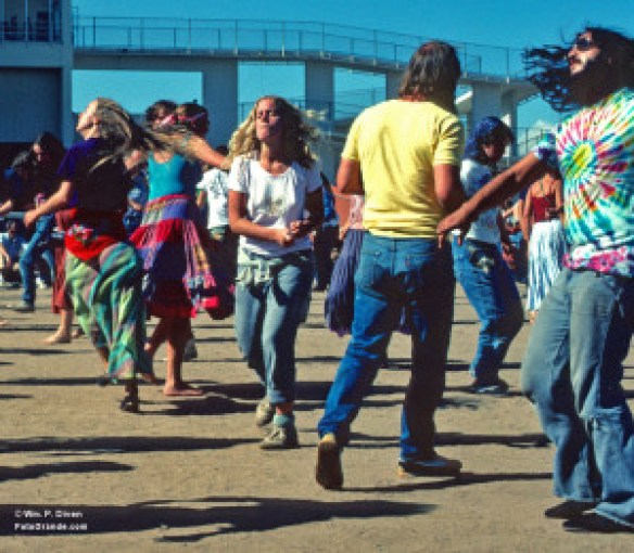 Dancing to the Dead; Santa Fe 1982. © William P. Diven.