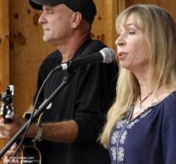 Danny Dugan and Juice Newton. Photo © William P. Diven.