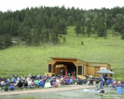 The meadow and stage at Fir, Colo. Photo © William P. Diven.