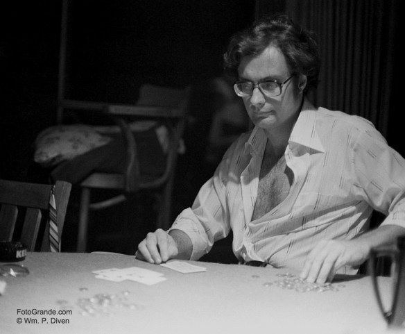 Jim Fish, gambling man. Photo © William P. Diven.
