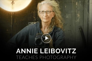 Masterclass com Annie Leibovitz. Não é o que você imagina.