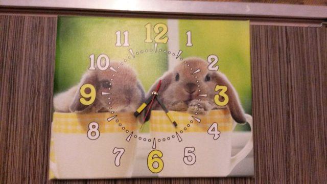 часы на холсте 8