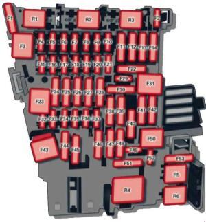 20122016 Audi A3 Fuse Box Diagram » Fuse Diagram