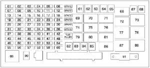 H3 Fuse Box  Wiring Diagram