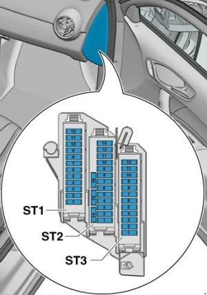 Audi A1 Fuse Box Diagram » Fuse Diagram