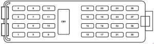 20062010 Ford Explorer Sport Trac Fuse Box Diagram » Fuse