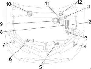 20132018 Toyota Corolla and Auris Fuse Box Diagram » Fuse