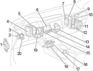 20152018 Toyota Hilux Fuse Box Diagram » Fuse Diagram