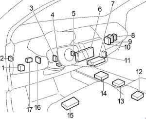 20022007 Nissan Murano Fuse Box Diagram » Fuse Diagram