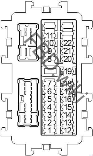 20042009 Nissan Quest Fuse Box Diagram » Fuse Diagram