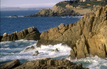 Chile, vista desde Isla Negra