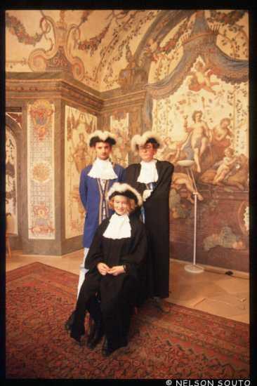 Viena, músicos, sala de conciertos Mozart