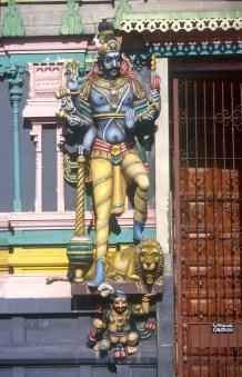 Sri Lanka, Colombo, templo hindú