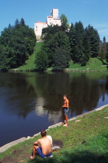 Croacia, Varazdin, Castillo de Trakoscan