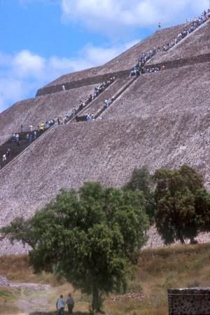 México, Teotihuacan, Pirámides del Sol