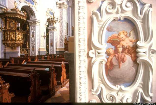 Baja Austria, Furth, Monasterio Göttweig, Pintura Mural