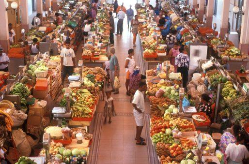 Cabo Verde, Isla Sao Vicente, Mindelo, mercado municipal