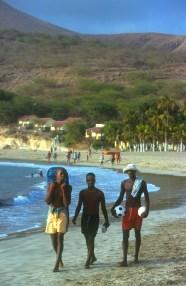 Cabo Verde, Isla Santiago, Tarrafal, playa