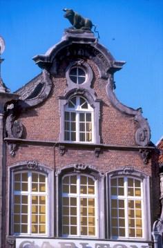 Bélgica, Flandes, Malinas, casa de Gremio