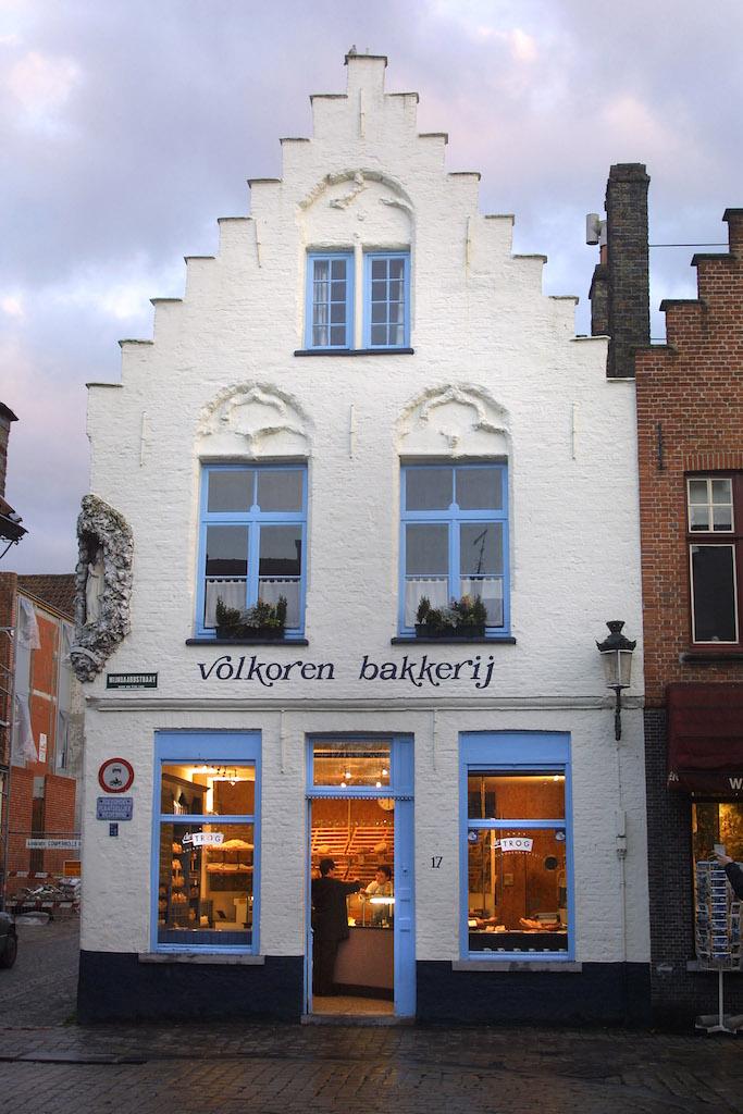 Flandes, Brujas, panadería