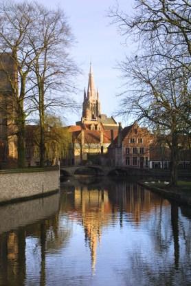 Flandes, Brujas, lago del amor