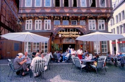 Alemania, Baja Sajonia, Hildesheim, casa de los carniceros